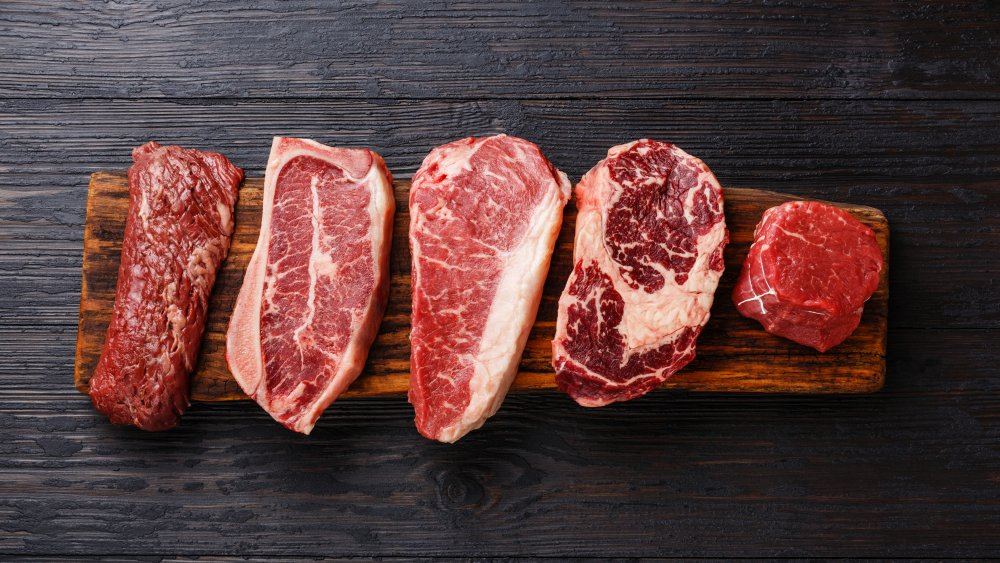Cuts of steak, ranked worst to best