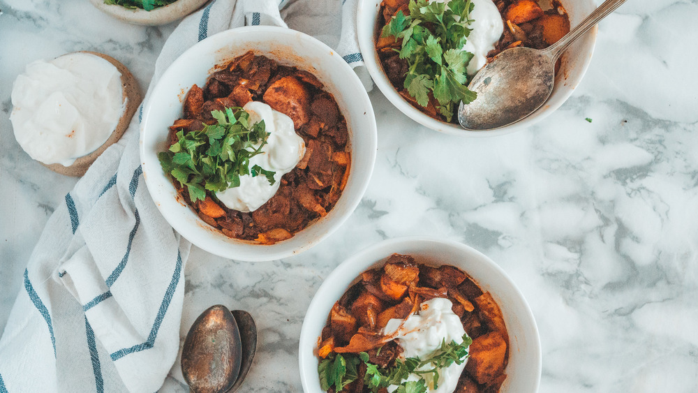 One-pot vegetarian mushroom goulash your whole family will love