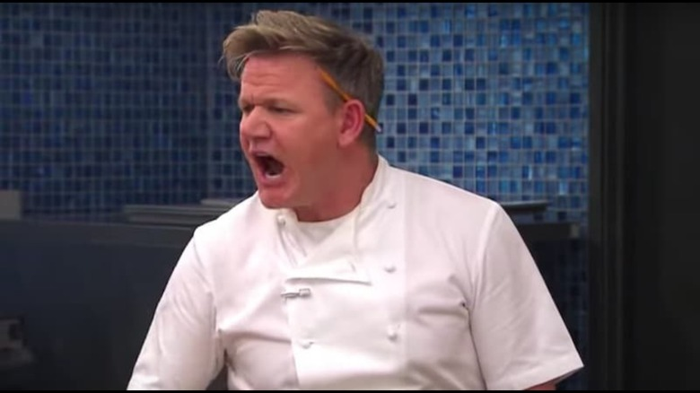 Gordon Ramsay's angriest moment on the set of Hell's Kitchen – Exclusive