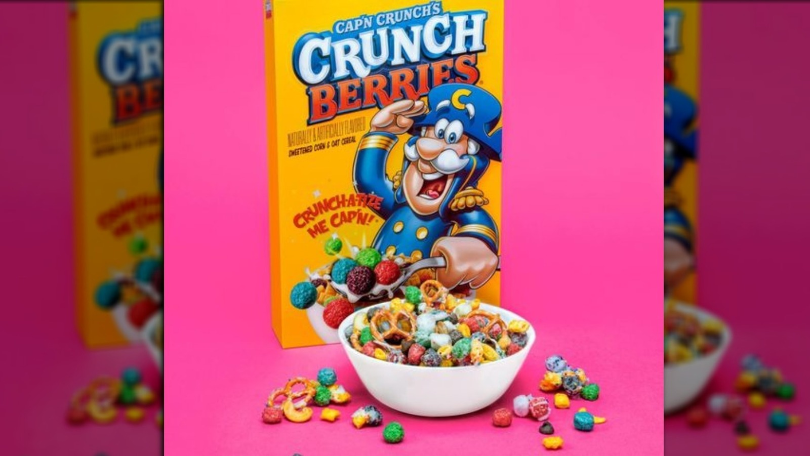 Oops All Berries / Just snag yourself a box of cap'n crunch's oops!