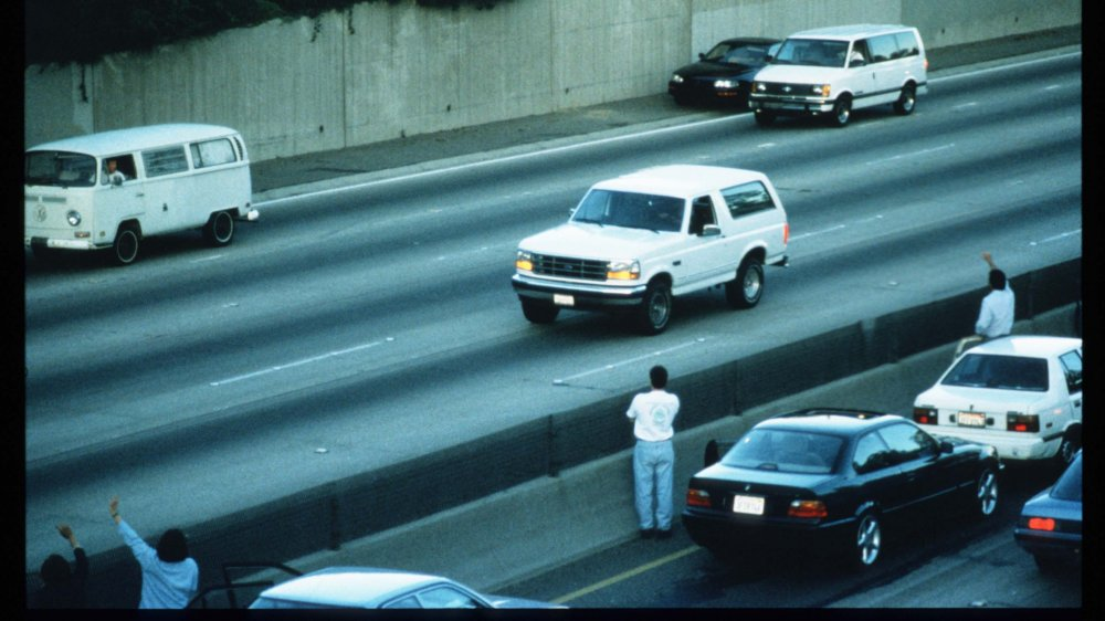 pizzaa delivery drivers were busy during the O.J. Simpson car chase