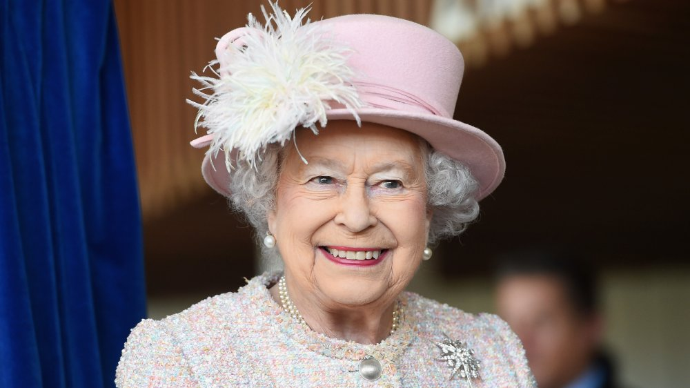 Queen Elizabeth II didn't order from pizza delivery drivers