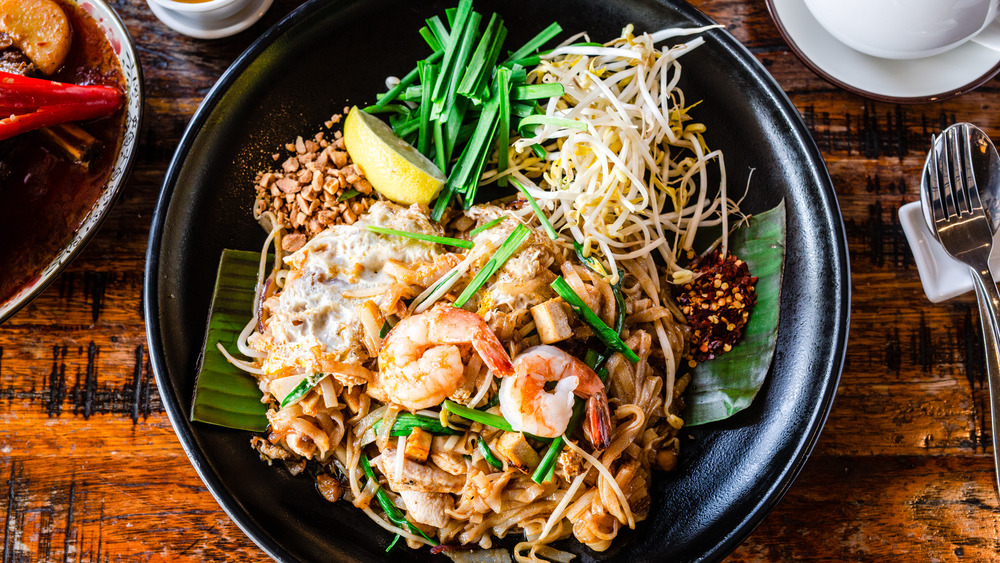 How authentic pad Thai is different from the American version
