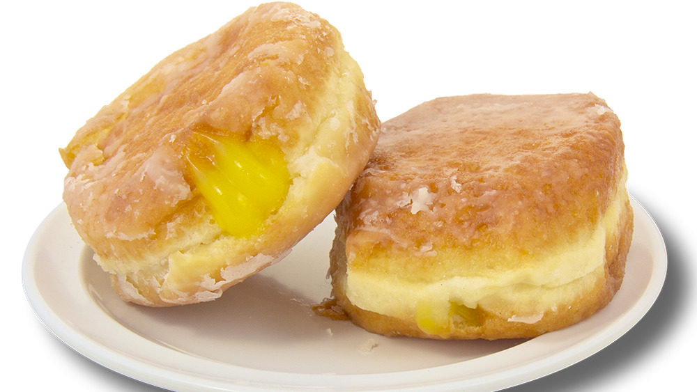 Lemon filled donuts from Shipley Do-Nuts