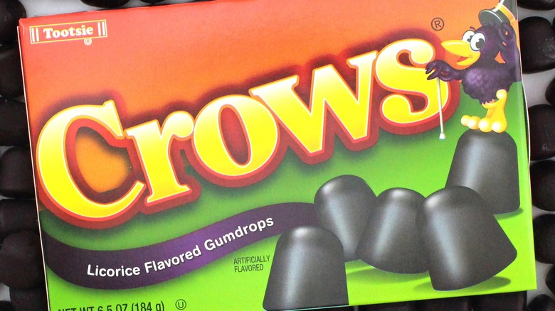 old-school candy Crows