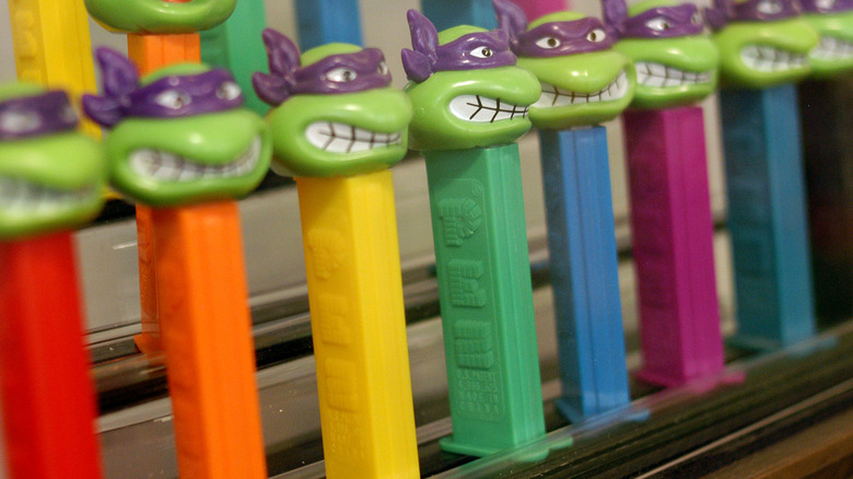 old-school candy Pez