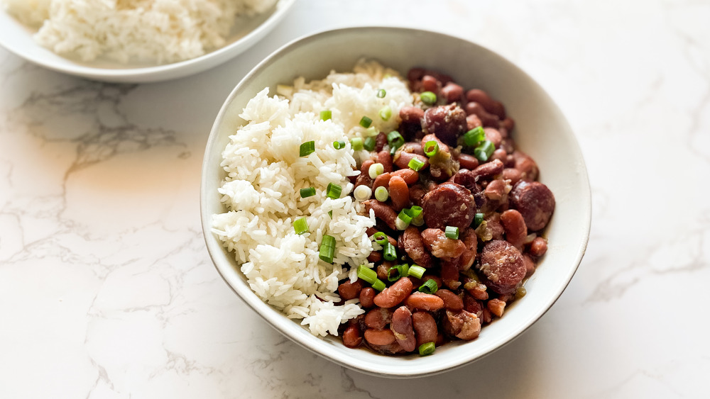 Simple Red Beans And Rice That Anyone Can Make