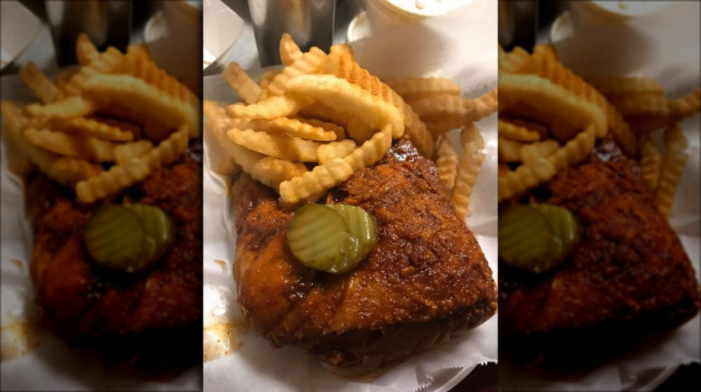 Tennessee: Prince's Hot Chicken's fried chicken