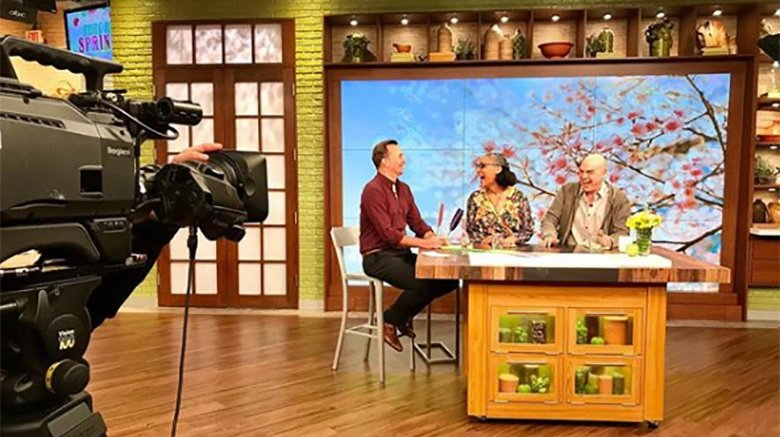 the chew filming