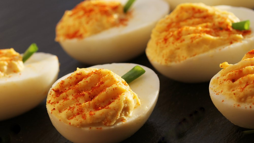 The real reason deviled eggs are called deviled eggs