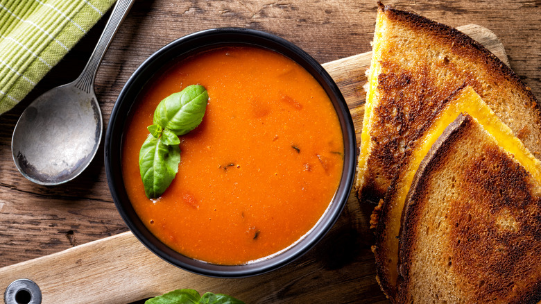 The Secret Ingredient You Should Be Adding To Your Tomato Soup
