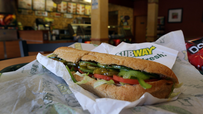 The Subway sandwich that was voted the most delicious of all
