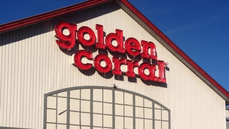 Improperly stored meat at Golden Corral