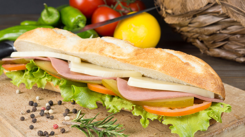 The Worst Foods To Order From Your Favorite Sandwich Shop