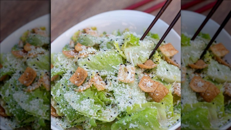 p.f. chang's Asian Caesar Salad