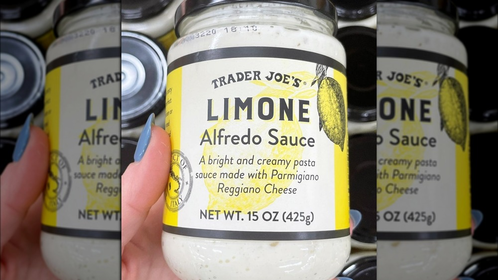 Trader Joe's Shoppers Are Obsessed With This Lemony Pasta Sauce