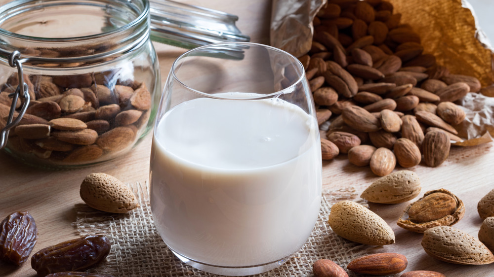 What happens to your body when you drink almond milk every day