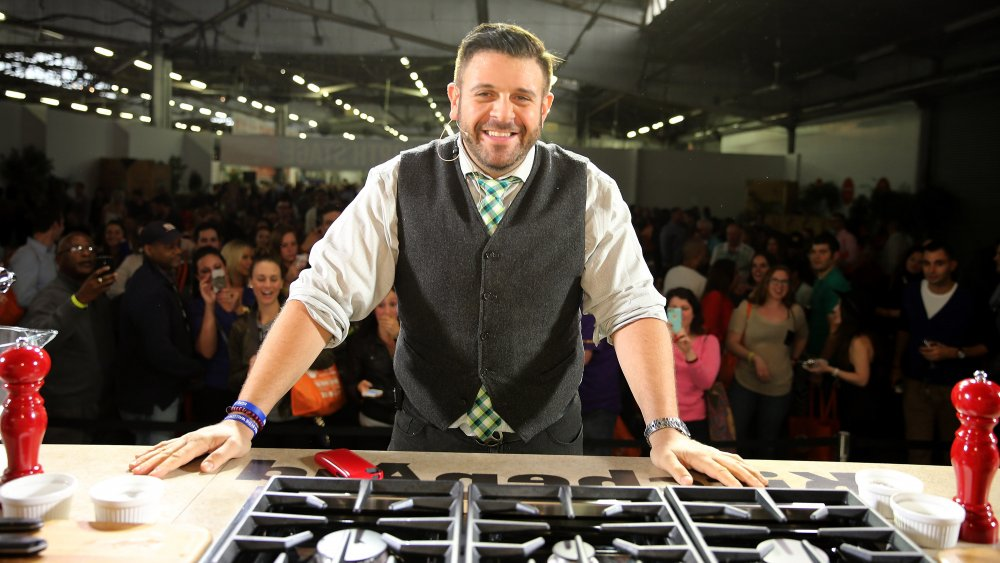 Why Adam Richman Of Man V. Food Disappeared - Mashed