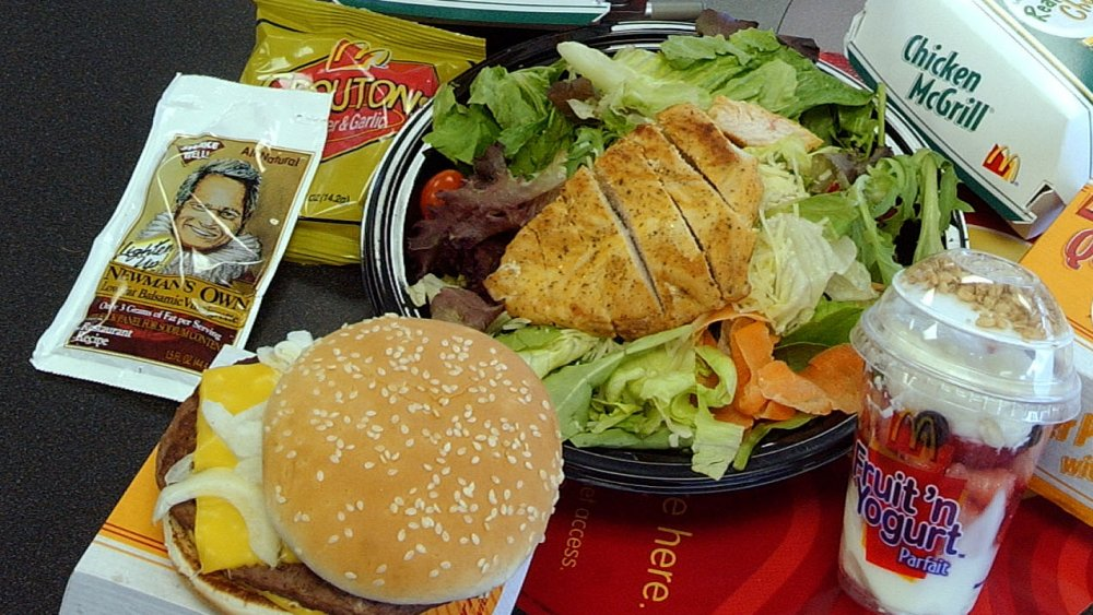 You should never order a salad at McDonald's. Here's why