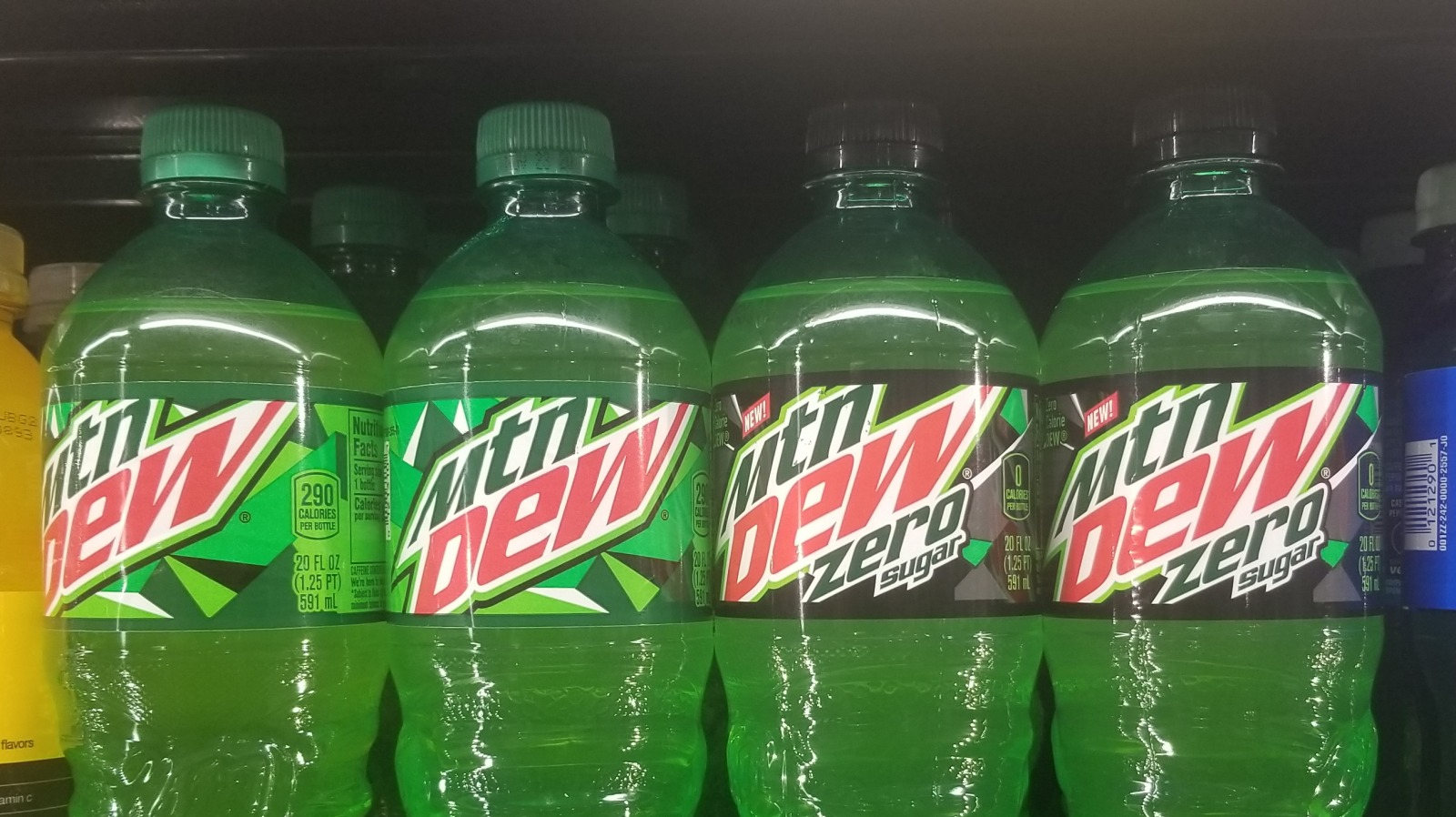 how unhealthy is diet mountain dew